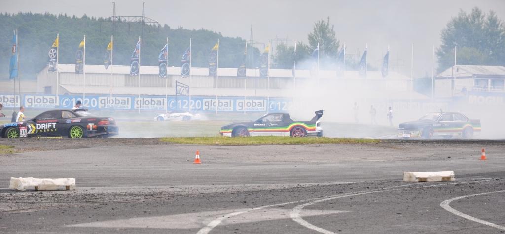 Mistrovství Evropy v Driftu ALL STARS Sosnová